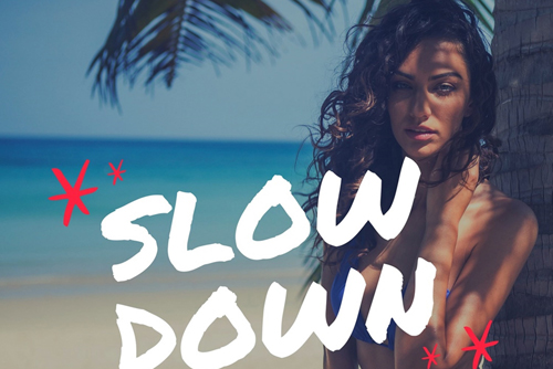 Chadash Cort & ALP3R FT. Morena - Slow Down
