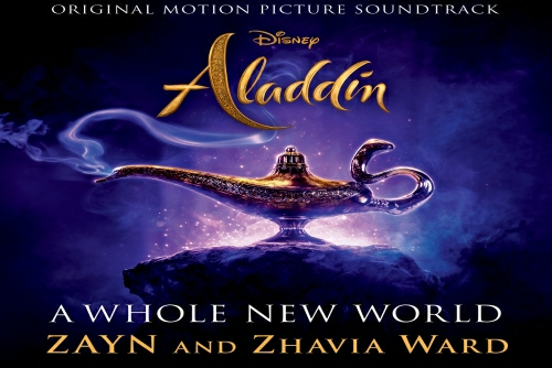 ZAYN with Zhavia Ward - A Whole New World (End Title) (From &qout;Aladdin&qout;)